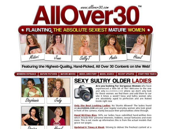 Allover30.com Free Username