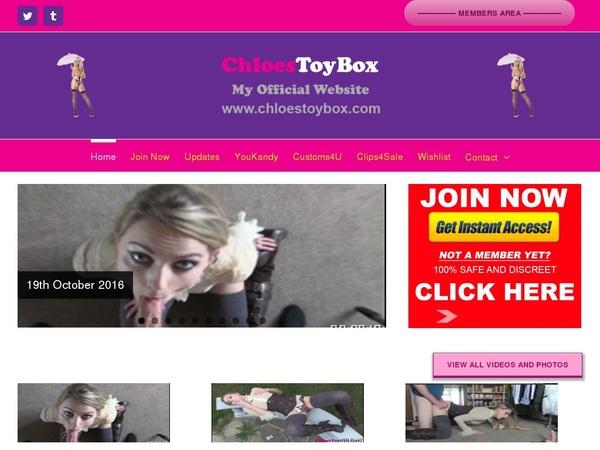 Chloestoybox Yearly Membership