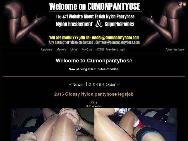 Cumonpantyhose.com 구독하기
