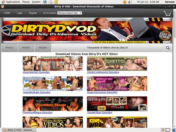 Dirty D VOD Webcams