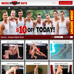 Discounted Broke Straight Boys Tube Membership
