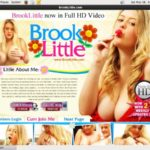 Free Working Brooklittle.com Account