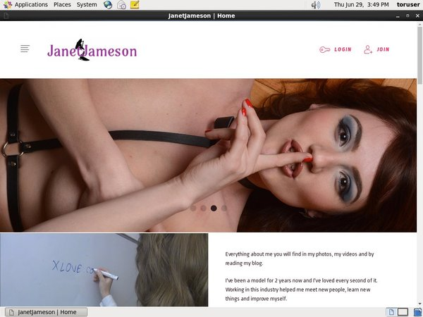 Get A Free JanetJameson Login