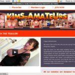 Kim's Amateurs New Account