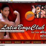 Latin Boys Club サイン アップ