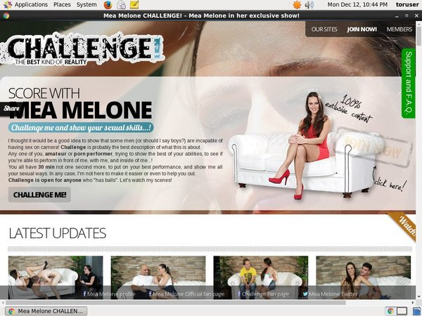 Melonechallenge.com Free Sign Up
