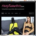 Nasty Rubber Girls Rubber Fetish