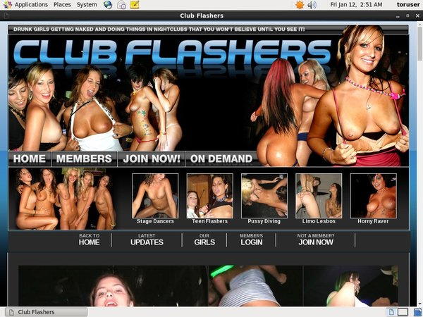 Free Clubflashers.com Trial Deal