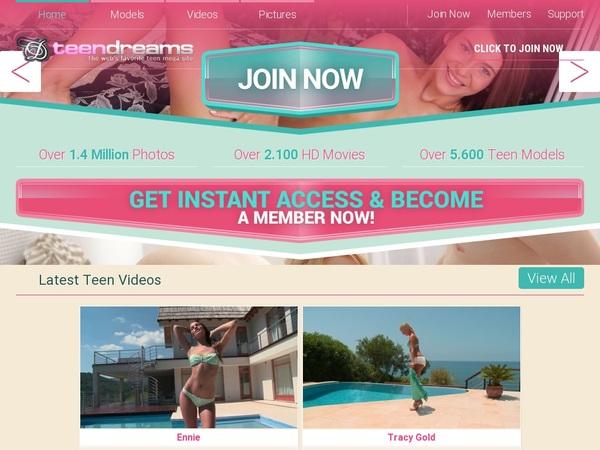 Teendreams Free Login Password
