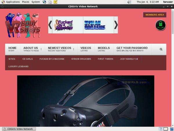 VR Body Shots Account Online