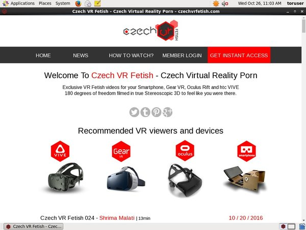 Czech VR Fetish Account Premium
