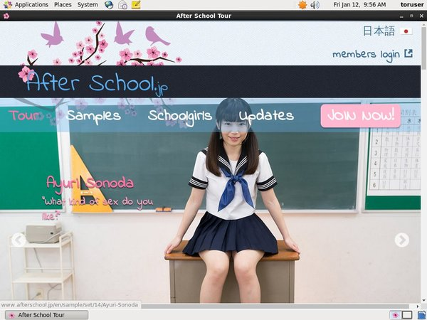 Afterschool.jp Password Accounts