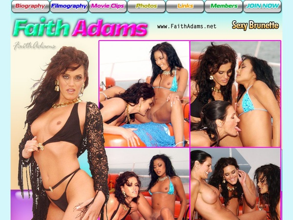Faith Adams Free Trial Membership