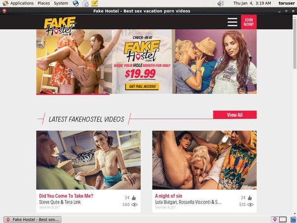 FAKE Hostel Join With ClickandBuy