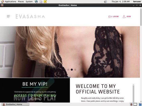 Evasasha.com Netcash