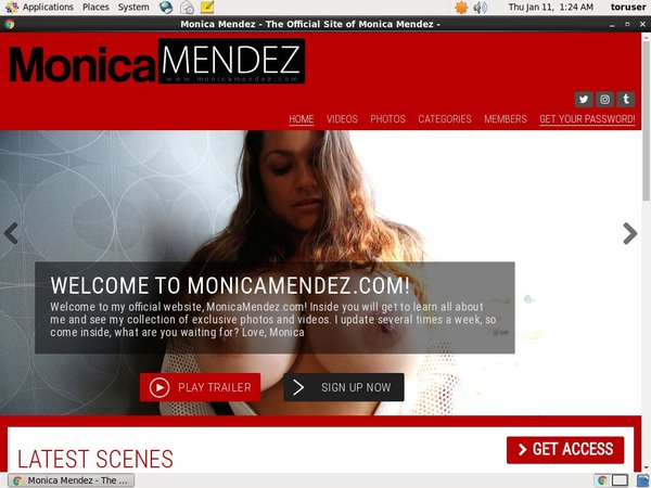 Monicamendez User Name Password