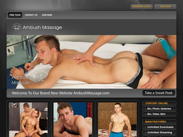 Ambush Massage Discount Link