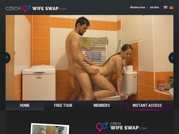 Czech Wife Swap Toilet